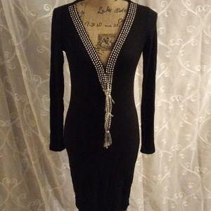 Dresses & Skirts - Black embellished dress